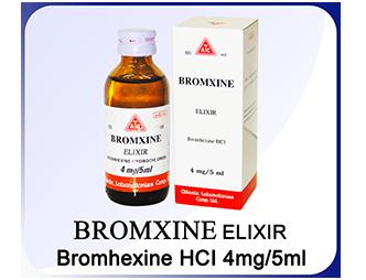 Bromxine Elixir 4 mg / 5 ml