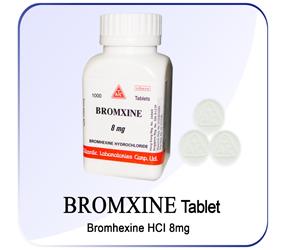 Bromxine Tab